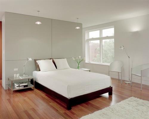 Desain Kamar Tidur Minimalis Putih Elegan