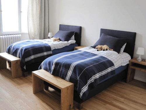 Desain tempat tidur untuk anak kembar
