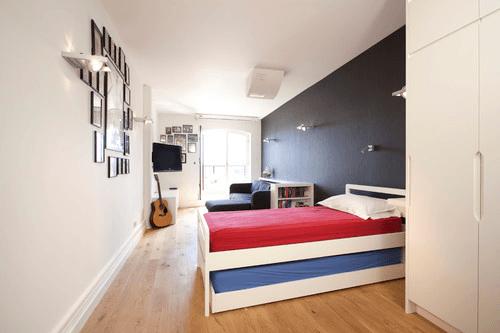 Warna kamar tidur anak laki-laki